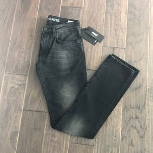 Mavi mens black jeans New w/tags Nordstrom 28 x 34